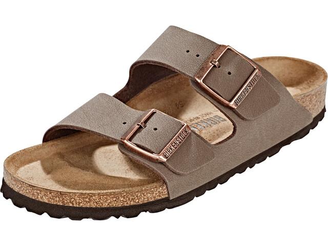 Birkenstock Arizona Sandals Birko-Flor Nubuk Narrow mocca